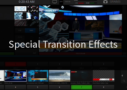 Special Transition Effects