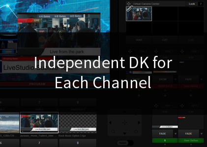 Independent DSK for Each Channel