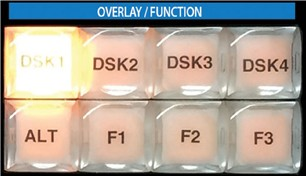 Overlay Function Buttons